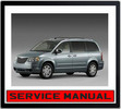 Thumbnail CHRYSLER GRAND VOYAGER 2008-2013 WORKSHOP SERVICE MANUAL