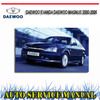 Thumbnail DAEWOO EVANDA DAEWOO MAGNUS 2000-2006 REPAIR SERVICE MANUAL
