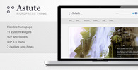 Thumbnail Astute - Creative Business & Portfolio Theme