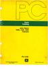 Thumbnail John Deere 1030/1130/1630 reservdelskatalog/parts catalog