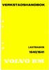 Thumbnail Volvo BM 1640/1641 verkstadshandbok/workshop manual