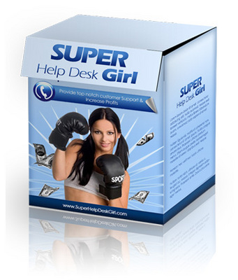 Pay for Super Help Desk Girl Script with Private Label Rights