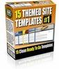 Thumbnail 15 Themed Site Templates V1 (PLR)