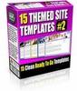 Thumbnail 15 Themed Site Templates V2 (PLR)