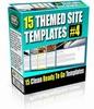 Thumbnail 15 Themed Site Templates V4 (PLR)