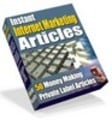 Thumbnail 50 Instant Internet Marketing Articles (PLR)