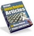 Thumbnail 50 Instant Internet Marketing Articles (PLR)