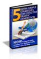 Thumbnail 5 Ultra Simple Strategies for Effective Traffic GeneratioPLR