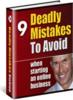 Thumbnail 9 Deadly Mistakes Online PLR