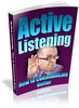 Thumbnail Active Listening - How to Communicate Better PLR
