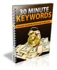 Thumbnail 30 Minute Keywords - Viral eBook PLR