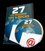 Thumbnail 27 List Building Tips n Tricks - Video Series (PLR)