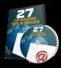 Thumbnail 27 List Building Tips n Tricks - Video Series (PLR)