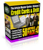 Thumbnail Article Master Series Volume 3 - Credit Cards and Debt plr