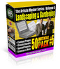 Thumbnail Article Master Series Volume 5 - Landscaping and Garde (PLR)