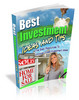 Thumbnail Best Investment Tips and Ideas (PLR)