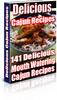 Thumbnail Cajun Recipes PLR