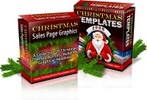 Thumbnail Christmas Graphics and Template Pack plr