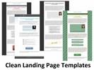 Thumbnail Clean Landing Page Templates (PLR)