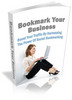 Thumbnail Bookmark Your Business plr