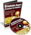 Thumbnail Brandable Report Creation for Newbies - Video Series (PLR)