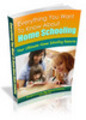Thumbnail Everything You Need to Know About Home Schooling plr