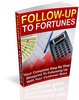 Thumbnail Follow Up to Fortunes PLR
