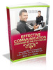 Thumbnail Effective Communication Strategies for the 21st Century PLR