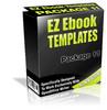 Thumbnail EZ eBook Templates Package V11 PLR