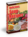 Thumbnail Delicious Soup Recipes (PLR)