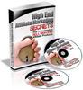 Thumbnail High End Affiliate Marketing Secrets - Audio Interview (PLR)