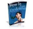 Thumbnail How to Gain Confidence PLR