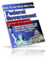 Thumbnail How to Get Work with the Federal Government PLR