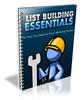 Thumbnail List Building Essentials (PLR)