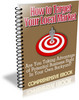Thumbnail How to Target Your Local Market (PLR)