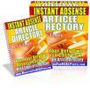 Thumbnail Instant AdSense Article Directory PLR
