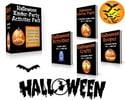 Thumbnail Halloween Kinder Party Activities Kit (PLR)