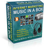 Thumbnail Internet Marketing Music in a Box plr