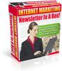 Thumbnail Internet Marketing Newsletter in a Box (PLR)