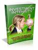 Thumbnail Investment Intesity - Viral eBook plr