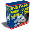 Thumbnail Instant Web Quiz PLR