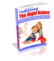 Thumbnail Instilling the Right Values - Viral eBook
