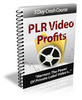 Thumbnail PLR Video Profits - eCourse (PLR)