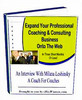 Thumbnail Professional Coaching Business plr