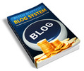 Thumbnail Push Button Blog System (PLR)