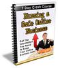 Thumbnail Running a Safe Online Business - eCourse (PLR)