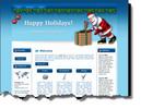 Thumbnail Santa Claus Website Template plr