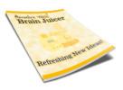 Thumbnail The Brain Juicer Report plr