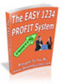 Thumbnail The Easy 1234 Profit System (PLR)
