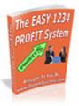 Thumbnail The Easy 1234 Profit System (PLR)